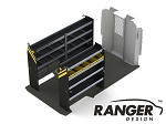 Ranger Design Service Steel Shelving Package for 159