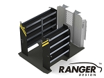 Ranger Design Contractor Steel Shelving Package for 118