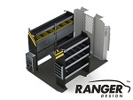 Ranger Design Electrical Steel Shelving Package for 118