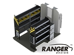 Ranger Design HVAC Steel Shelving Package for 118
