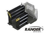 Ranger Design Contractor Steel Shelving Package for Long Wheelbase Transit Connect (2014+)