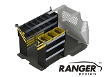 Ranger Design Service Steel Shelving Package for Long Wheelbase Transit Connect (2014+)