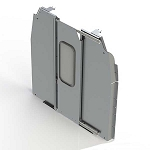 Ranger Design Sliding Door Aluminum Partition for Ford Transit Medium Roof