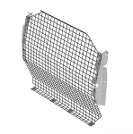 Ranger Design Steel Wire Mesh Contoured Partition for Nissan NV200 and Chevy City Express