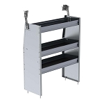 Ranger Design Aluminum 36in Shelving Unit for Low Roof and Compact Vans