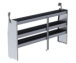 Ranger Design Aluminum 84in Shelving Unit for Low Roof