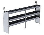 Ranger Design Aluminum 96in Shelving Unit for Low Roof and Compact Vans