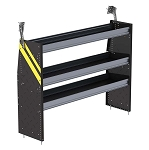 Ranger Design Steel 60in Shelving Unit for Low Roof and Compact Vans