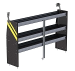 Ranger Design Steel 72in Shelving Unit for Low Roof Vans