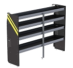 Ranger Design Deep Steel 84in Shelving Unit for High Roof Van