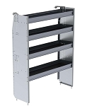 Ranger Design Aluminum 48in Shelving Unit for High Roof Van