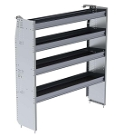 Ranger Design Aluminum 60in Shelving Unit for High Roof Van