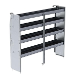 Ranger Design Aluminum 72in Shelving Unit for High Roof Vans