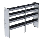Ranger Design Aluminum 96in Shelving Unit for High Roof Vans