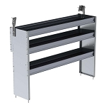Ranger Design Aluminum 60in Shelving Unit for 2014+ Ford Transit Connect