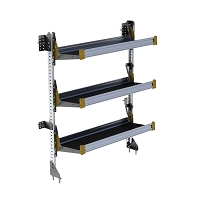 Ranger Design 3-Level Fold-Away Shelf with 48