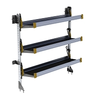 Ranger Design 3-Level Fold-Away Shelf with 60