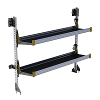 Ranger Design 2-Level Fold-Away Shelf with 72