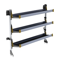 Ranger Design 3-Level Fold-Away Shelf with 72