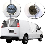 GM Savana Chevy Express Slick Locks Puck Locks Turn Key Kit
