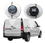 Mercedes Metris Slick Locks Puck Locks Turn Key Kit