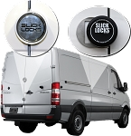 Mercedes Sprinter Slick Locks Puck Locks Turn Key Kit (2007 to 2018)