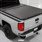 Stowe Cargo System Tool Box Hinged Tonneau Cover for Chevy Silverado / GMC Sierra Truck Bed