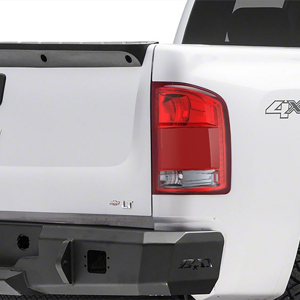 CUB Chevy Silverado 1500 Tail Lamp Integrated Blind Spot Detector 2014-2017