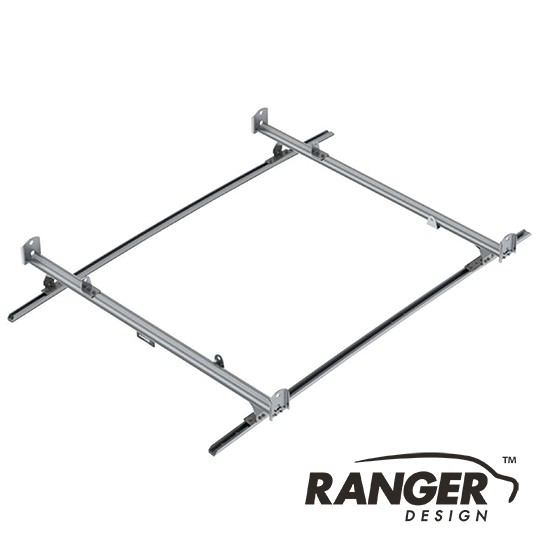 Ranger Design Cargo Rack For Vans, 2 Bar System for Nissan NV200 and Chevy City Express