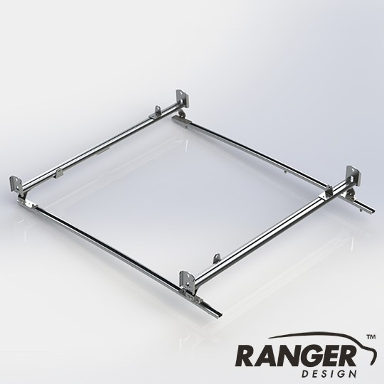 Ranger Design Cargo Rack For Vans, 2 Bar System for Ford Transit Connect