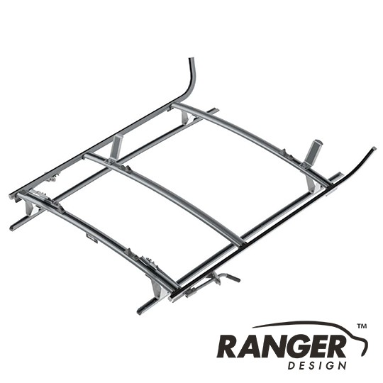 Ranger Design Combination Rack For Cargo Vans, 2 Bar System for Mercedes Metris