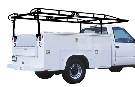9FT Extended/Crew Cab & 11 FT Standard Cab Service Body Truck Rack