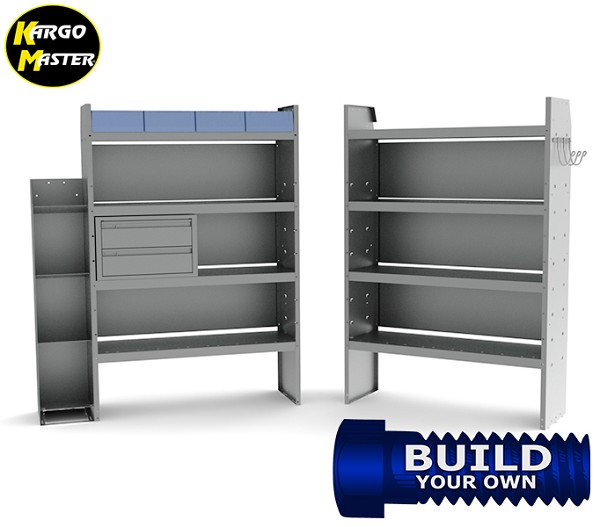 Kargo Master Ford Transit Telecom/Electric Mid/High Roof Steel Van Shelving Package