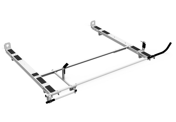 Kargo Master A-Series Clamp & Lock Ladder Rack for Most 6.5 Ft Commercial Truck Caps
