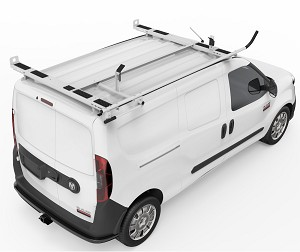 Kargo Master A-Series Clamp & Lock Ladder Rack for Compact Vans