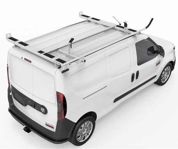 Kargo Master A-Series Clamp & Lock Ladder Rack  for Compact Vans and Mercedes Metris