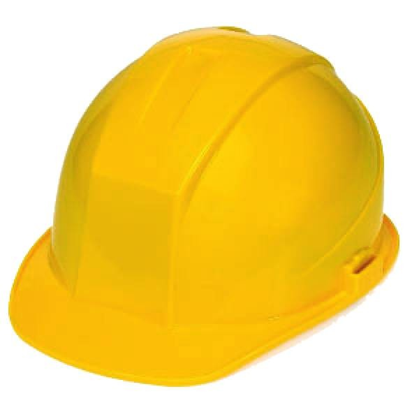DuraShell Hard Hat with 6 Point Suspension and Chin Straps