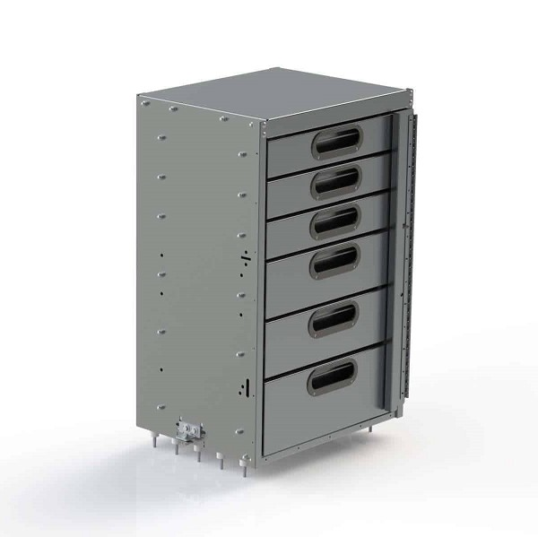Ranger Design Aluminum 6 Drawer Cabinet