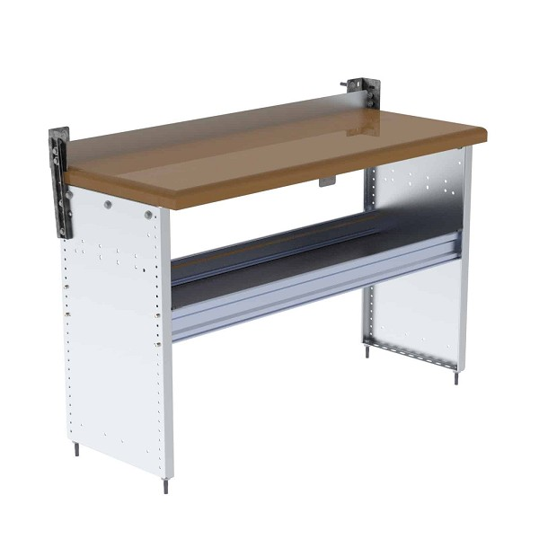 Ranger Design Workbench with Hardwood Top and 1 Shelf 48W x 32H x 18D