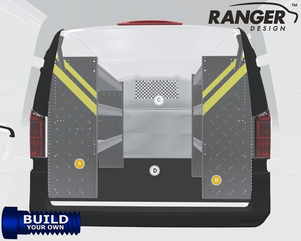Ranger Design Chevy City Express Build Your Own Van Shelving Package