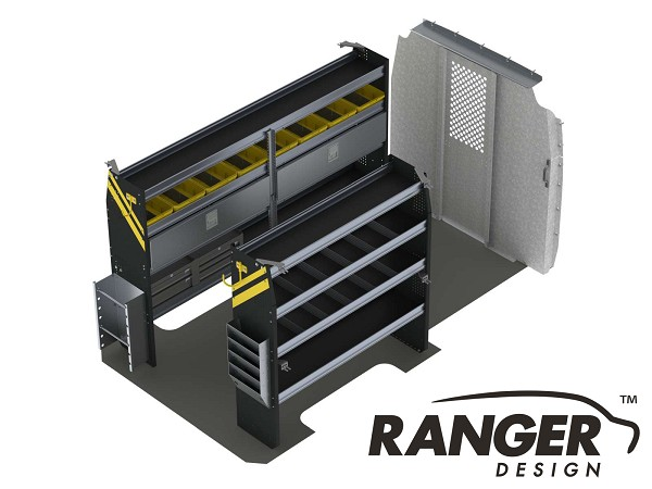 Ranger Design Electrical Steel Shelving Package for the 144