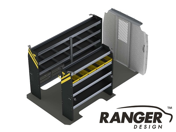 Ranger Design Base Service Steel Shelving Package for the 144