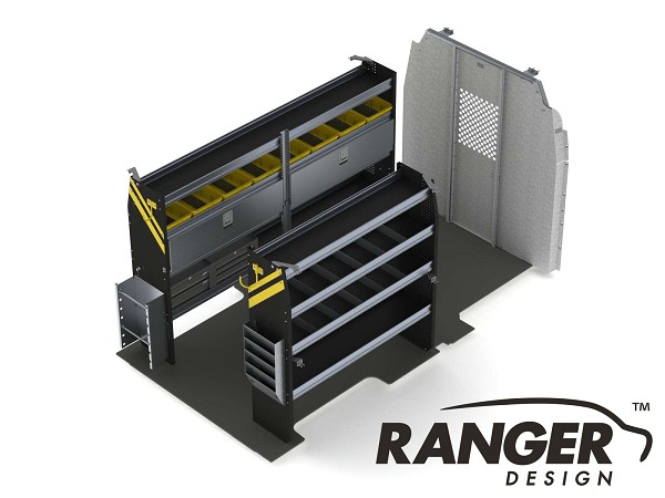 Ranger Design Electrical Steel Shelving Package for 148