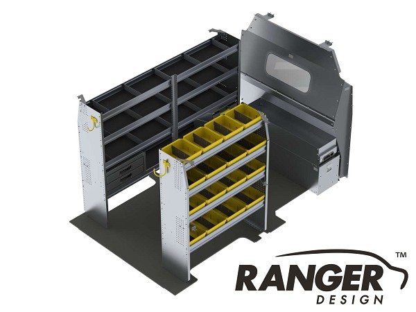 Ranger Design Aluminum Shelving Package for 130