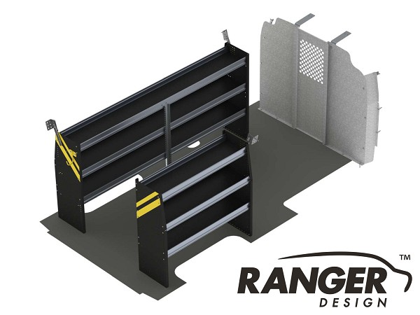 Ranger Design Contractor Steel Shelving Package for 155