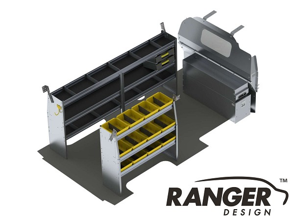 Ranger Design Aluminum Shelving Package for 155