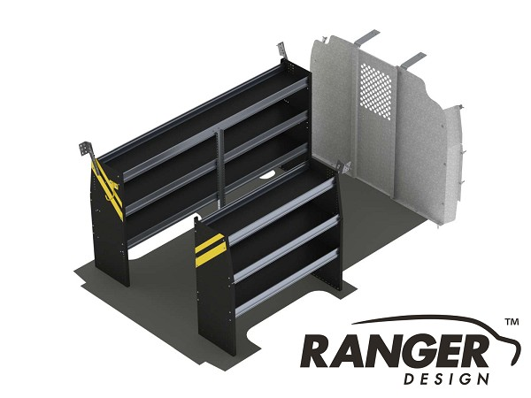 Ranger Design Contractor Steel Shelving Package for 135