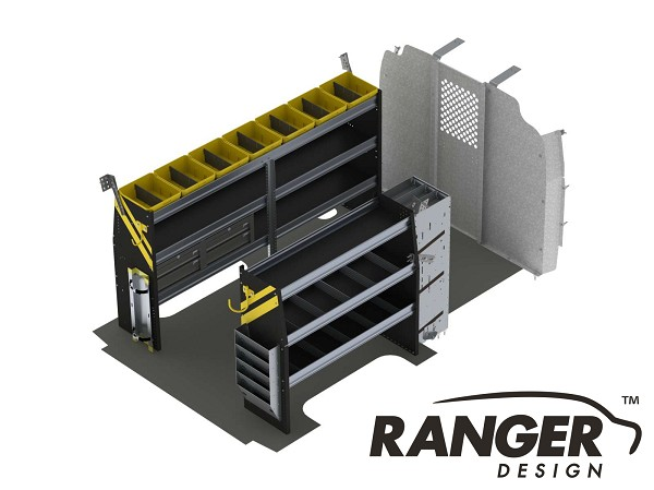 Ranger Design HVAC Steel Shelving Package for 135