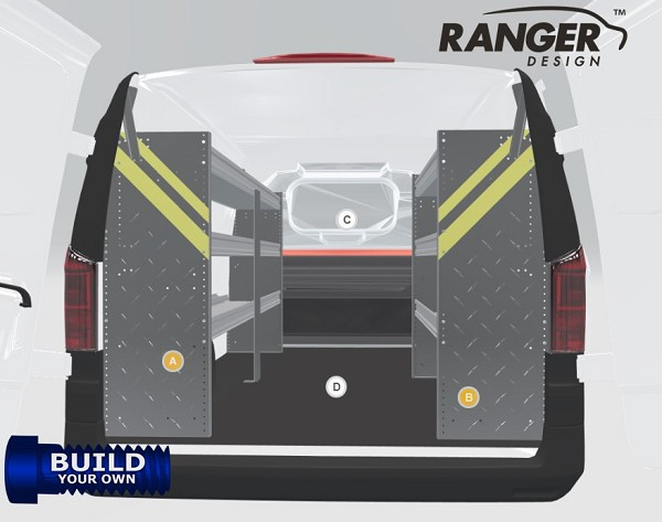 Ranger Design Build Your Own Ford E-Series Shelving Package