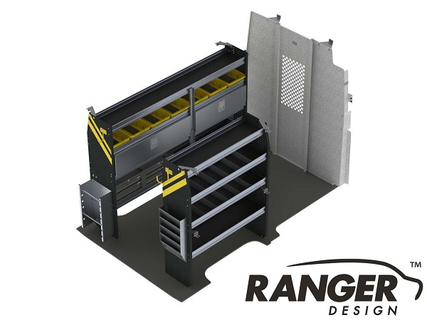 Ranger Design Electrical Steel Shelving Package for 146
